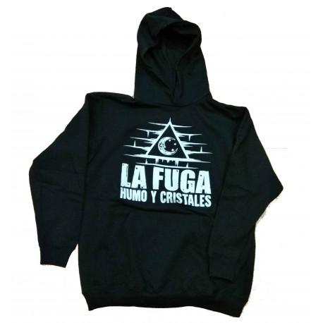 LA FUGA SUDADERA NEGRA CHICA HUMO