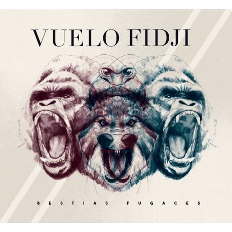 """Preventa cd VUELO FIDJI """"Bestias Fugaces"""" (EDICION FIRMADA)"""