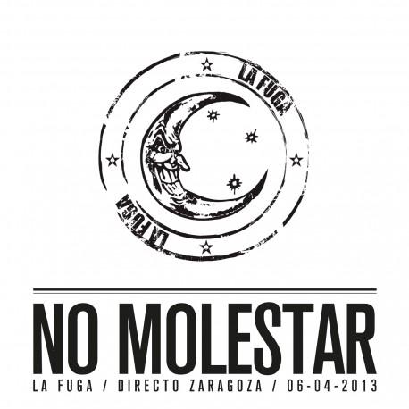 NO MOLESTAR (CD en directo Zaragoza 06/04/2013)